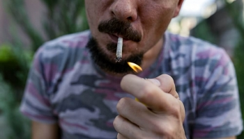 What Causes Black Lips from Smoking Marijuana?